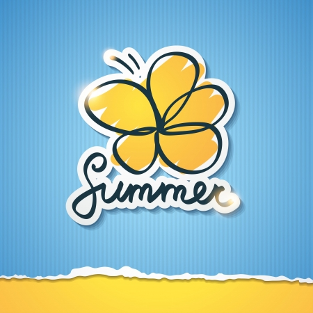 summer illustration, vector eps 10 Stock Vector - 18560746