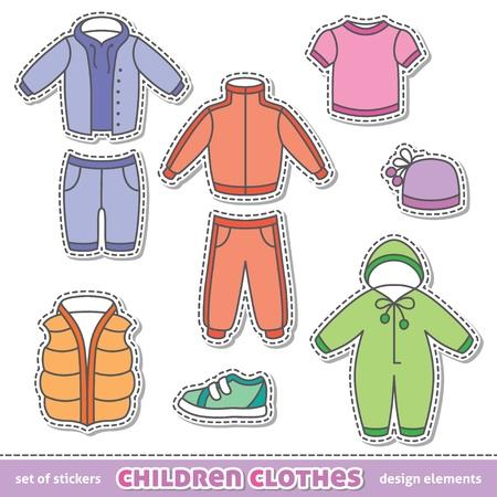 duffle: children clothes