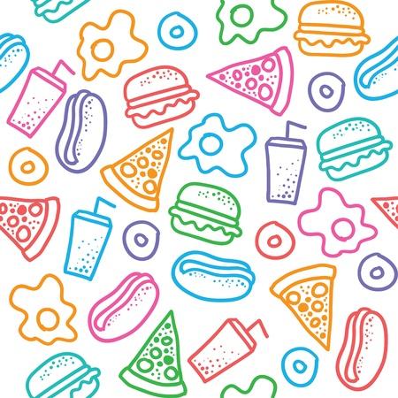 cheeseburger: fast food pattern