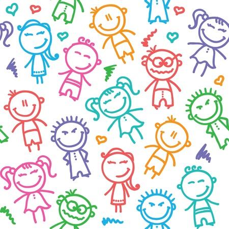 子供のパターン 写真素材 - 18717124