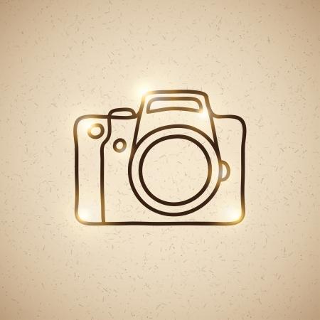 reflexe: appareil photographique Illustration