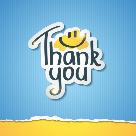 typography: thank you