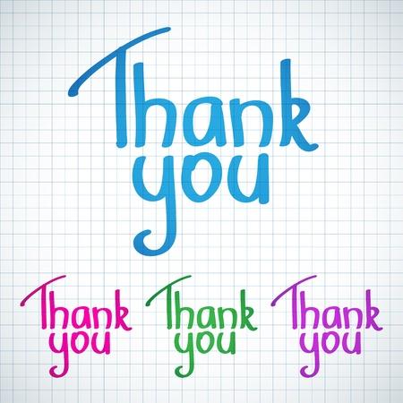 typography signature: Gracias
