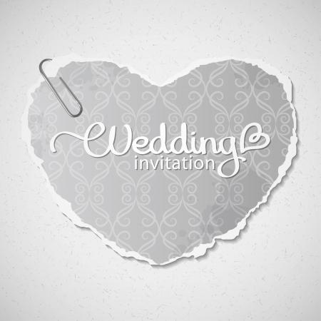 wedding invitation Stock Vector - 19102389