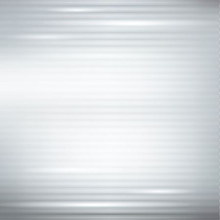 silver abstract background with stripes and lights Vector