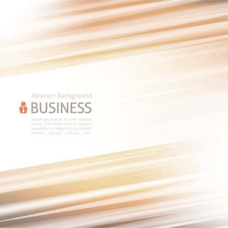 beige background: abstract background with stripes for business presentation Illustration