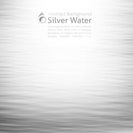 wave crest: vector water background with drop icon