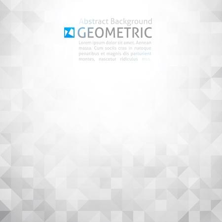 희미한 빛: 벡터 기하학적 추상 배경