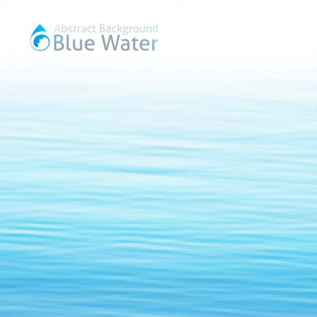 water surface: vector water background with drop icon