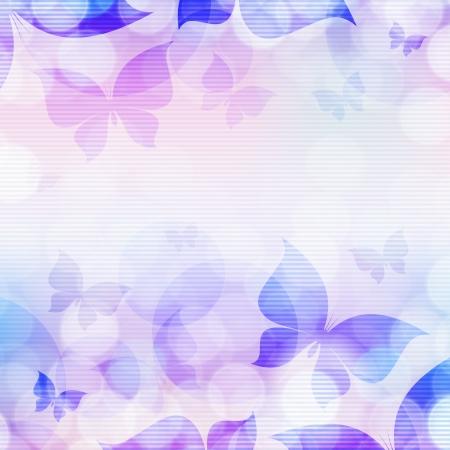 蝶と美しい抽象的な背景