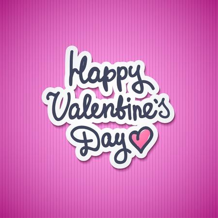 handwrite: handwrite text, happy valentines day