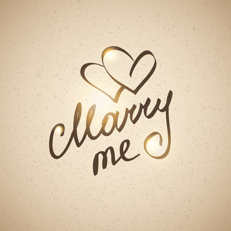 marry me: marry me, hanwritten text