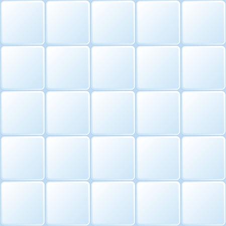 piastrelle bagno: mattonelle blu seamless pattern Archivio Fotografico