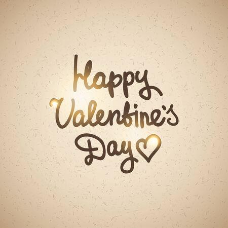 handwrite text, happy valentines day photo