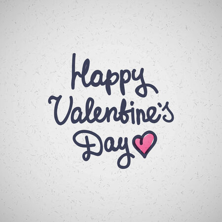 handwrite text, happy valentines day photo