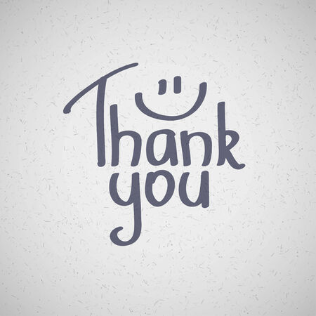 Thank You inscription, hand drawn  Stock Photo - 26481952