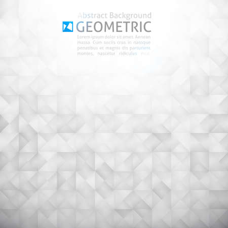 geometric abstract background with squares photo