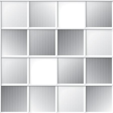 gray tile seamless pattern Stock Photo - 26482465