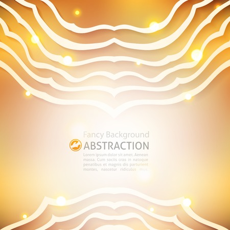 vector abstract background with circle ornament of white lines Vector