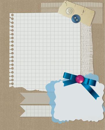 christmas beads: scrapbooking christmas design