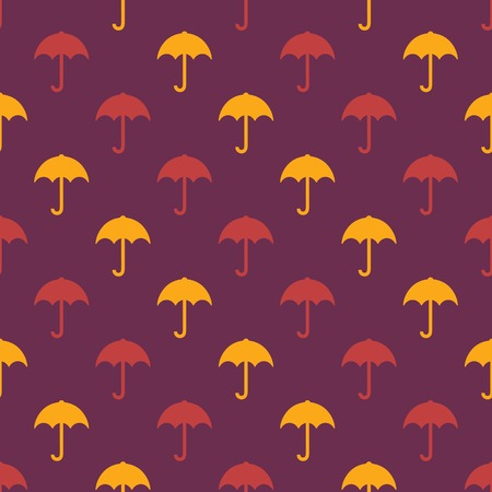 contrasting: umbrella pattern