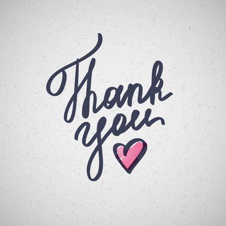 heart sketch: thank you