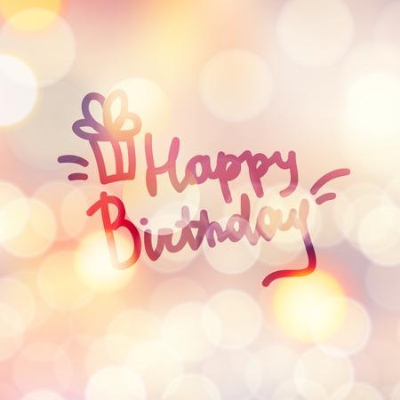 handwrite: happy birthday