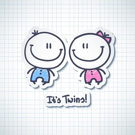 그것은 쌍둥이의 스톡 콘텐츠 - 32260234