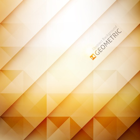 vector geometric abstract background with triangles and lines