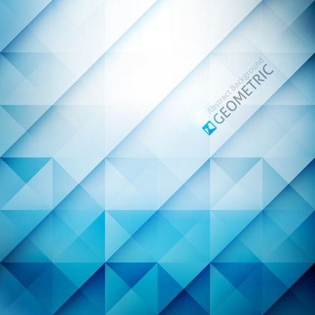 Vektor geometrischen abstrakten Hintergrund mit Dreiecken und Linien Standard-Bild - 32874637