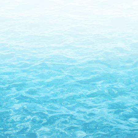 réaliste vecteur de fond de l'eau de mer avec une ondulation