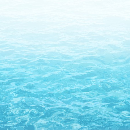 realistic vector background of sea water with ripple Illustration