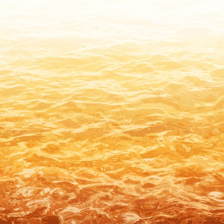 rages: realistic vector background of water with ripple