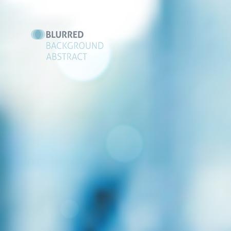 vector borrosa resumen de antecedentes con luces, color azul Ilustración de vector