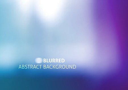 vector background with blurred objects, abstraction in purple color