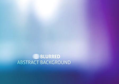 Vektor-Hintergrund mit verschwommenen Objekten, Abstraktion in lila Farbe Standard-Bild - 37121411