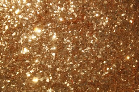 vecteur clinquant texture, fond réaliste des particules d'or