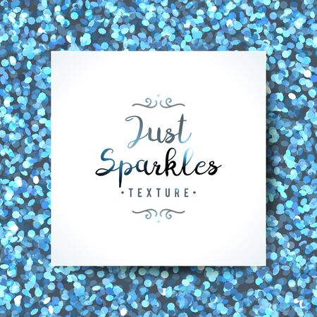 vector sparkles seamless pattern, texture of shiny particles