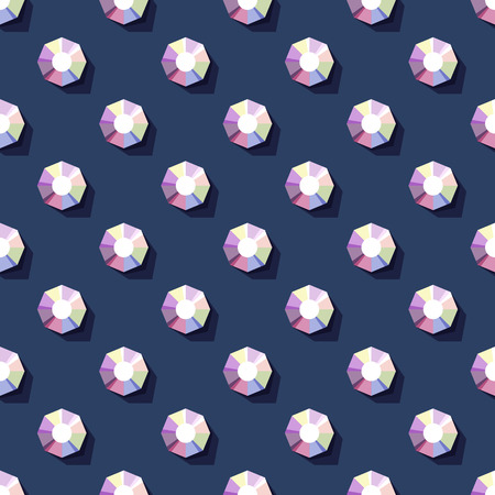 rhinestones: seamless pattern of rhinestones on dark background Illustration