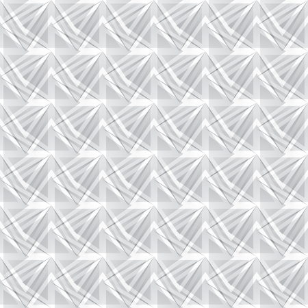 pattern geometric: vector geometric seamless pattern of gray triangles, abstract background Illustration