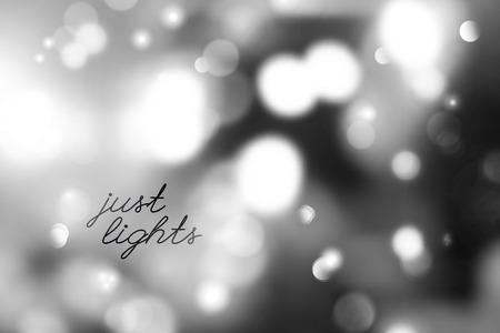 desktop wallpaper: vector background of blurred lights and circles, just lights text