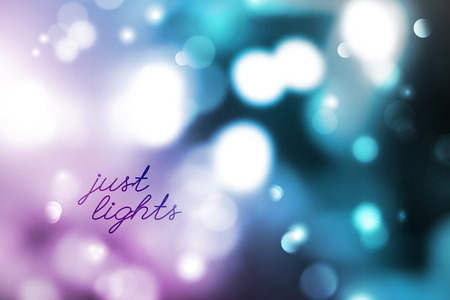 purple wallpaper: vector background of blurred lights and circles, just lights text
