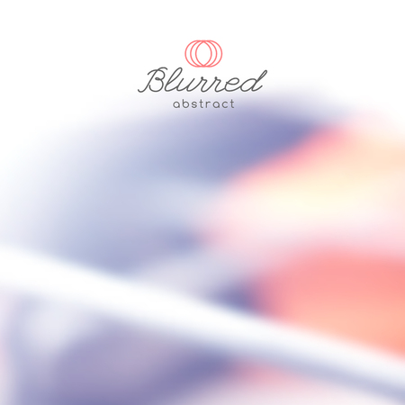lite: vector abstract background with blurred lines and shapes Illustration