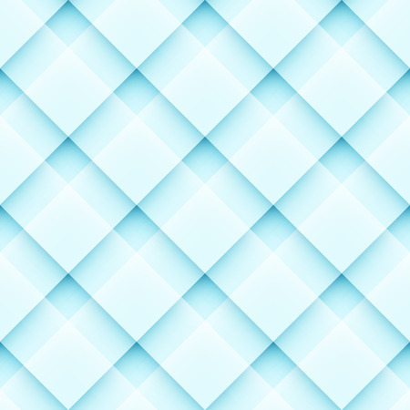 fluted: vector abstract geometric seamless pattern with squares Illustration