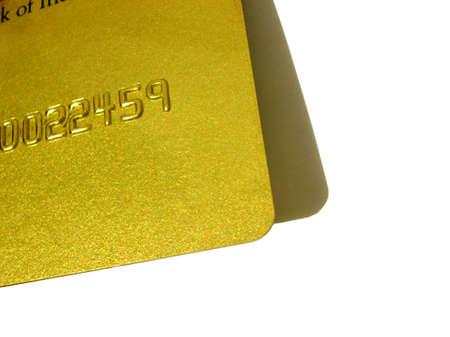 closeup of credit/ATM card Stock Photo - 2169604