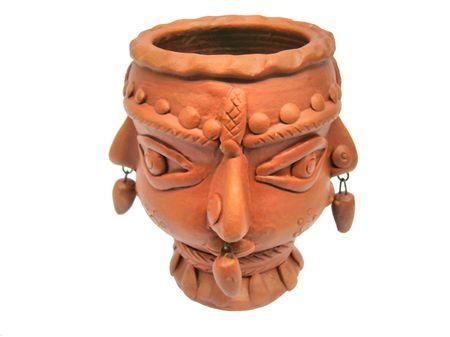 terra:           terra cotta Vase Stock Photo