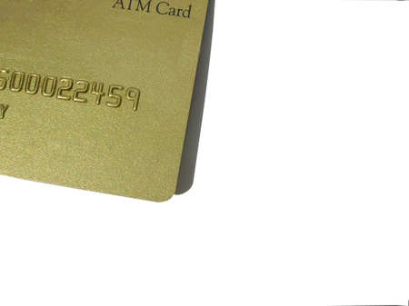 creditcards:          A closeup, number of creditATM card