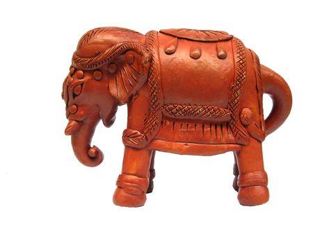 terra:           terra cotta elephant