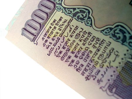 mentioned:      Indian Bank Note-1000 Rupee note on white -Value mentioned in 15 different indian languages