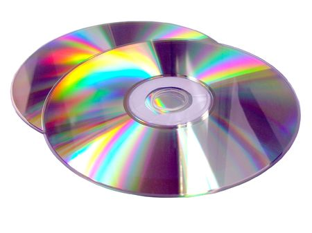 dvds:           Two Compact Discs -CDs on white